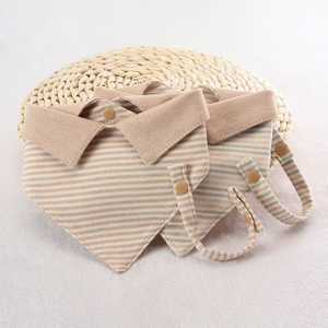 Cotton Baby Bibs with Collar Design