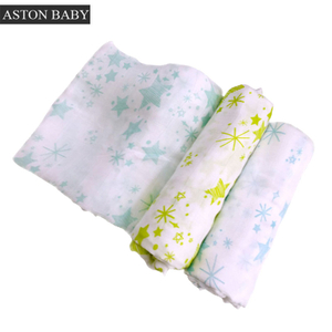 Baby Blanket Muslin 70% Bamboo 30% Cotton