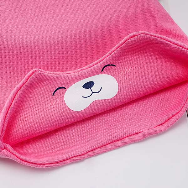 Cute Bear Print Baby Cap