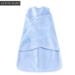Polar Fleece Baby Swaddle Wrap Swaddle Bag