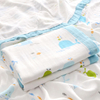 70% Bamboo 30% Cotton 4 Layers Muslin Baby Blanket