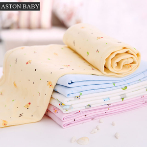 100% cotton baby knitted blanket