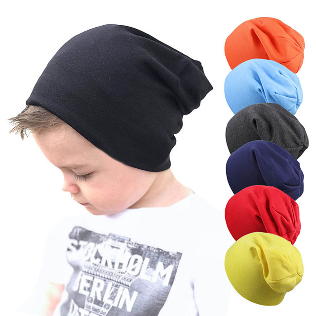 Fashion Solid Baby Cap